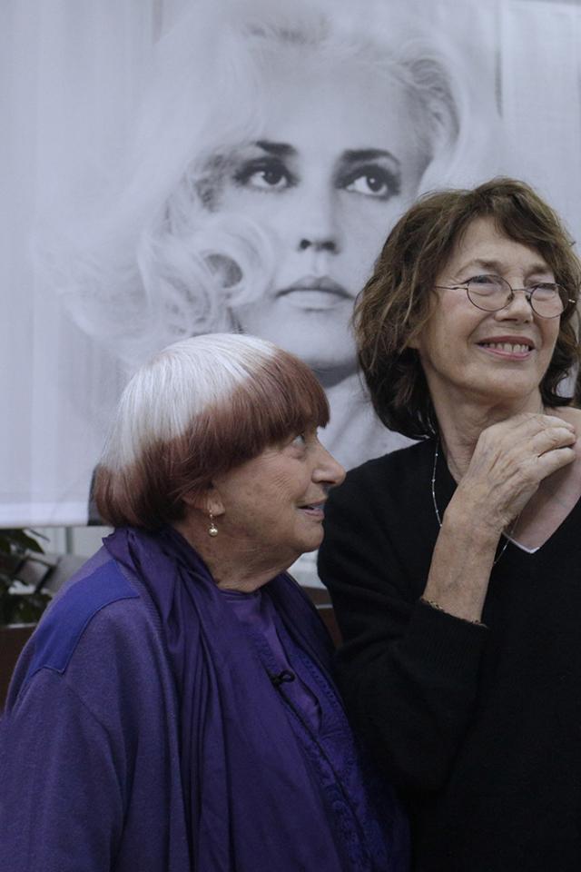 Agnes Varda et Jane Birkin ©Laetitia Notarianni