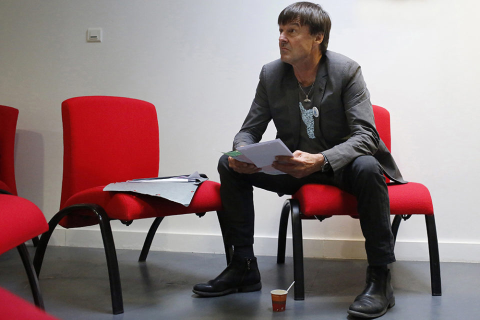 Nicolas Hulot. Photo by Laetitia Notarianni